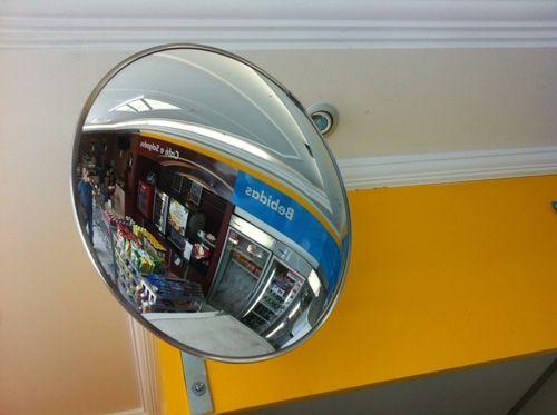 Espelho Convexo Para Garagem de Condominio