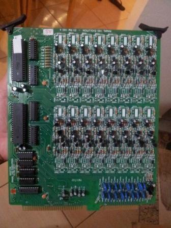 Placa Ramal 16 Pontos EVL 164 Balanceado Marca: Maxcom Intelbras