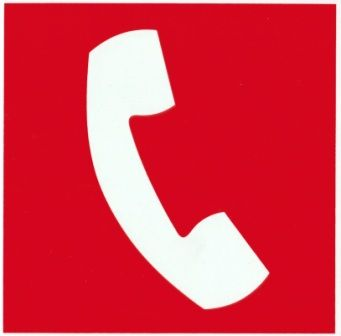 Placa Sinalização Combate Incêndio Emergência - Telefone