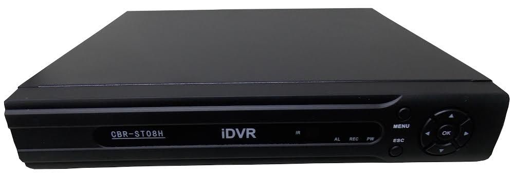 IDVR Stand Alone 08 canais H.264 Real Time