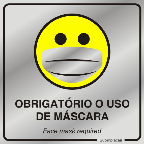 mascara, covid, placa