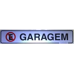 Placa Sinalização Garagem