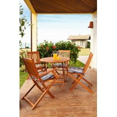 Cadeira Ipanema Butzke Linha Sol Com Braço Ideal para Ambiente Externos como: Piscina, Jardim, Varanda e Churrasqueira