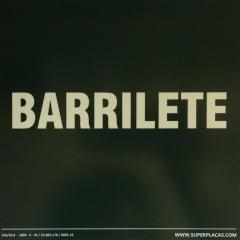 Placa de Sinalização BARRILETE - Fotoluminescente