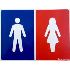 Placa Banheiro Unissex