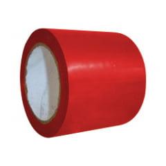 Fita demarcação de Solo - Vermelha-  30 mts (largura 10cm)