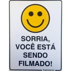 Placa Sorria, Você Está Sendo Filmado