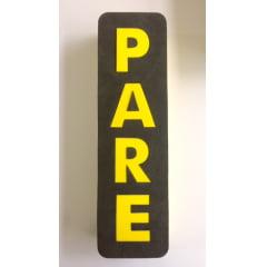 Protetor Fundo Vaga Para Estacionamento de Carros Protetor Parachoque Borracha EVA